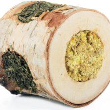 HamStake Březový špalík plněný bylinkami 9x5cm