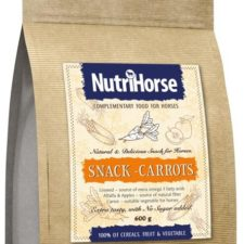 Nutri Horse Snack Carrot 600 g