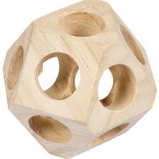 Hračka hlod. dřevo koule s dírami Duvo+10cm