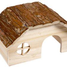 Domek dřevo přírodní Duvo+28x18x16cm
