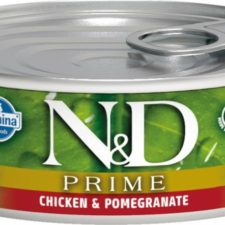 N&D PRIME Cat konz. Adult Chicken & Pomegranate 80 g