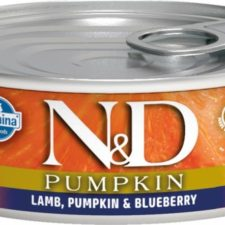 N&D PUMPKIN Cat konz. Adult Lamb & Blueberry 80 g