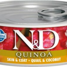 N&D QUINOA Cat konz. Quail & Coconut 80 g