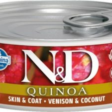 N&D QUINOA Cat konz. Venison & Coconut 80 g