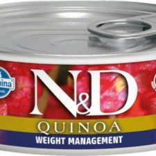 N&D QUINOA Cat konz. Weight Management Lamb & Brocolli 80 g