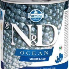 N&D OCEAN Dog konz. Adult Salmon & Codfish 285 g