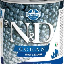 N&D OCEAN Dog konz. Adult Trout & Salmon 285 g
