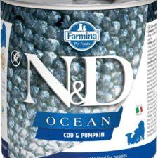 N&D OCEAN Dog konz. Puppy Codfish & Pumpkin 285 g