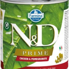 N&D PRIME Dog konz. Adult Chicken & Pomegranate 285 g