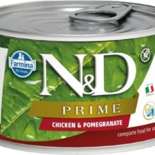 N&D PRIME Dog konz. Adult Chicken & Pomegranate Mini 140 g