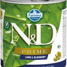 N&D PRIME Dog konz. Adult Lamb & Blueberry 285 g