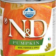 N&D PUMPKIN Dog konz. Adult Boar & Apple 285 g