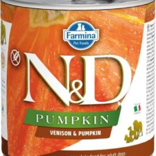 N&D PUMPKIN Dog konz. Adult Venison & Pumpkin 285 g