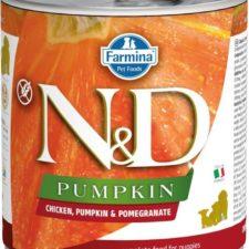 N&D PUMPKIN Dog konz. Puppy Chicken & Pomegranate 285 g