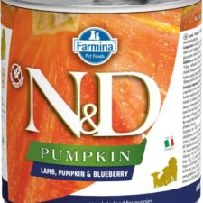 N&D PUMPKIN Dog konz. Puppy Lamb & Blueberry 285 g