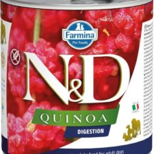 N&D QUINOA Dog konz. Digestion Lamb & Fennel 285 g