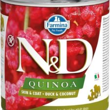 N&D QUINOA Dog konz. Duck & Coconut 285 g