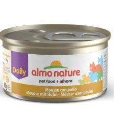 Almo Nature Daily Menu WET CAT - Pěna s kuřetem 85g výhodné balení 24ks