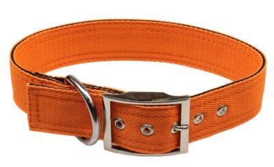 Obojek nylon oranžový B&F 4,0 x 55 cm