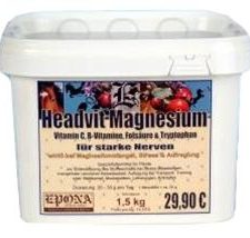 EPONA Headvit Magnesium - Hořčík pro silné nervy 1,5 kg