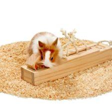 Karlie interaktivní dřevěná hračka pro hlodavce