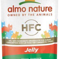 Almo Nature cat kaps. Jelly-tuňák 55g