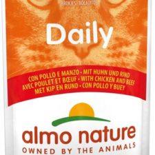 Almo Nature Daily Menu cat kaps. Kuře a hovězí 70g