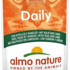Almo Nature Daily Menu cat kaps. telecí a jehně 70g