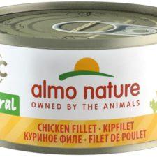 Almo Nature cat konz. Natural-kuře filet 70g