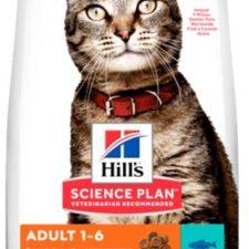 Hill's Science Plan Feline  Adult Tuna 10 kg NOVÝ