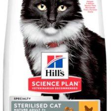 Hill's Science Plan Feline  Mature Ad. 7+ Sterilised Chicken 3 kg NOVÝ