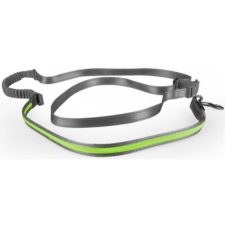 Vodítko svítící zelené s amortizérem USB 2,5x180-250 Duvo+