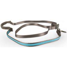 Vodítko svítící modré s amortizérem USB 2,5x180-250 Duvo+