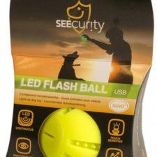 Hračka svítící míček USB zelený 6cm Duvo+