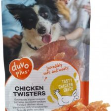 Duvo+ dog Meat! Chicken twisters 80 g