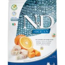 N&D OCEAN DOG Adult Mini Codfish&Pumpkin & Orange 800g