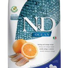 N&D OCEAN DOG Adult M/L Herring & Orange 2