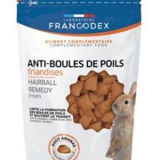 Francodex Pochoutka Hairball remedy králík 50g