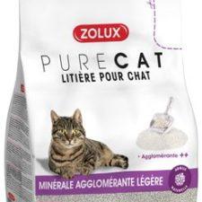 Podestýlka PURECAT premium light clumping 10l Zolux