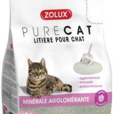 Podestýlka PURECAT antibacterial scent clump 10l Zolu