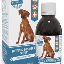 Biotin s boswelií sirup pro psy TOPVET 200ml