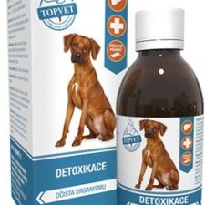 Detoxikace sirup pro psy TOPVET 200ml
