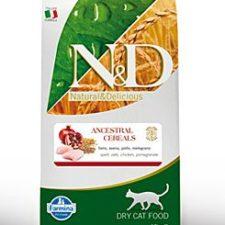 N&D LG CAT Adult Chicken & Pomegranate 10kg