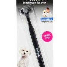 Petosan zubní kartáček dvouhlavý pro psy Small