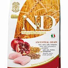 N&D LG CAT Neutered Chicken & Pomegranate 1