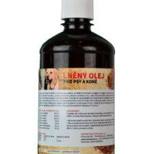 Lněný olej pro koně a psy ZEUS  500ml