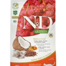 N&D Quinoa CAT Skin & Coat Herring & Coconut 1