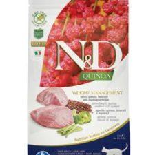 N&D Quinoa CAT Weight Management Lamb & Broccoli 1