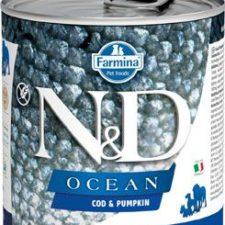 N&D DOG OCEAN Adult Codfish & Pumpkin 285g