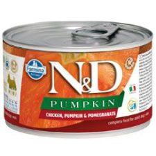 N&D DOG PUMPKIN Adult Chicken & Pomegranate Mini 140g